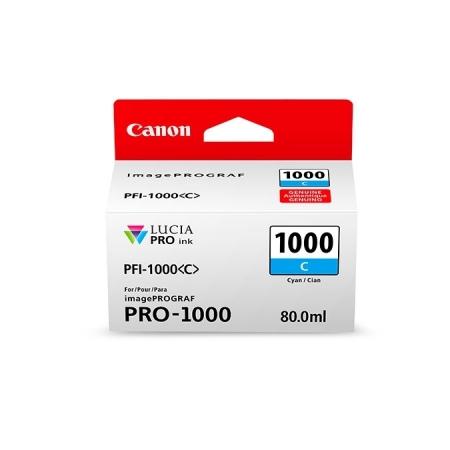Canon PFI1000C (Cyan) - cerneala pt. PRO-1000 ImagePrograf