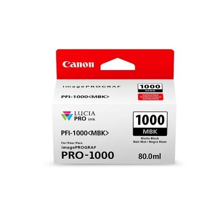 Canon PFI1000MBK (Matte Black) - cerneala pt. PRO-1000 ImagePrograf