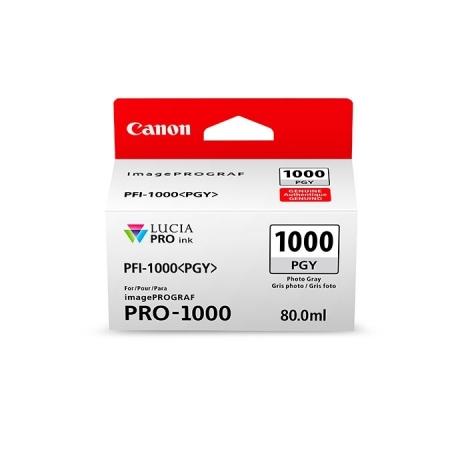 Canon PFI1000PGY (Photo Gray) - cerneala pt. PRO-1000 ImagePrograf