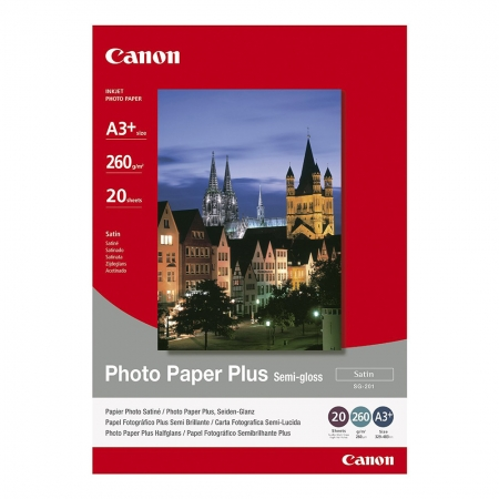 Canon Photo Paper Plus Semi-gloss SG-201 A3 - 20 coli