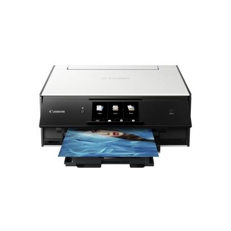Canon Pixma TS9050 - Imprimanta A4, Wi-Fi, Alb/ Negru