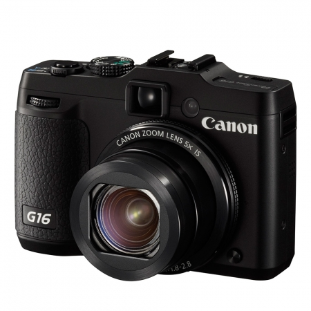 Canon PowerShot G16 - 12Mpx, zoom optic 5X, Full HD, Wi-Fi