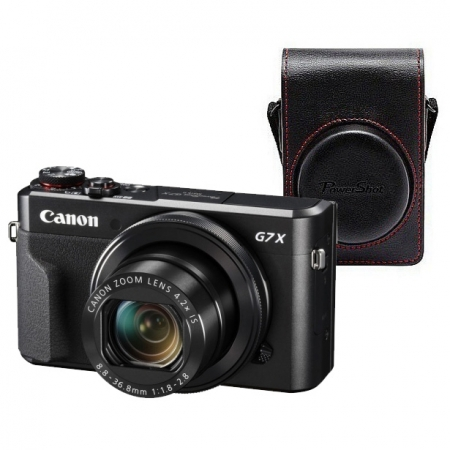 Canon PowerShot G7 X Mark II kit + toc DCC-1880