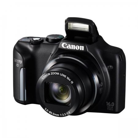 Canon PowerShot SX170 negru