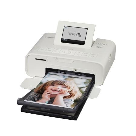 Canon Selphy CP-1200 Wi-Fi Alba imprimanta foto 10x15