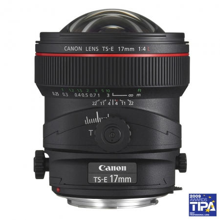 Canon TS-E 17mm f/4L (Tilt & Shift)