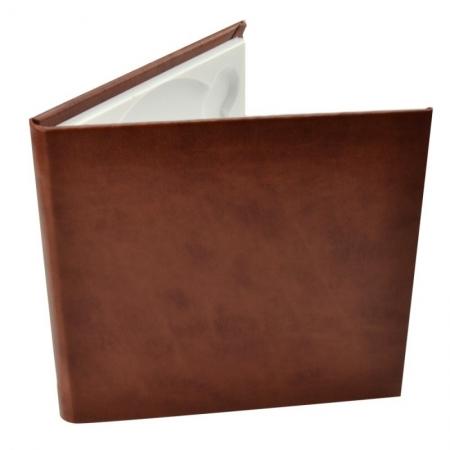 Carcasa 1 CD DVD, Piele eco, Model Clasic - Visiniu
