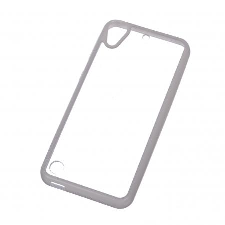 Carcasa TPU+Acrylic pentru HTC Desire 530, HTC Desire 630, Alb