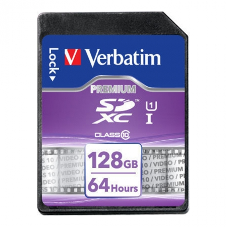 Card Verbatim  SDXC 128GB Clasa 10 - RS125012321