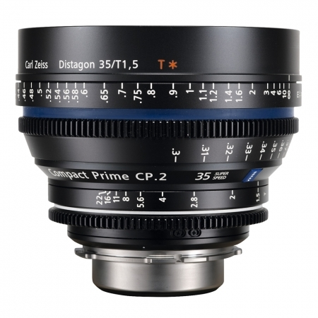 Carl Zeiss CP.2  1.5/35 T* E - metric Super Speed - montura Sony E