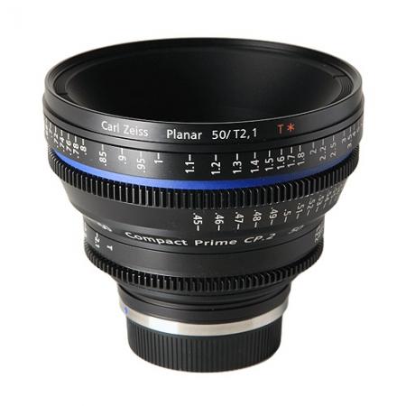Carl Zeiss CP.2  2.1/50 T* - montura Canon EF metric