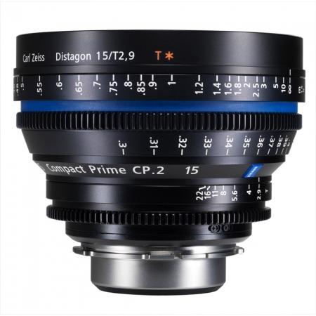 Carl Zeiss CP.2  2.9/15 T* E - metric - montura Sony E