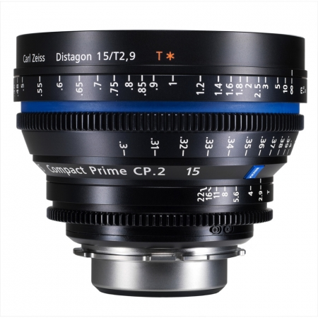 Carl Zeiss CP.2  2.9/15 T* - montura Canon EF metric