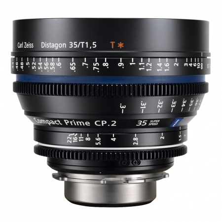 Carl Zeiss CP.2 1.5/35 T* Super Speed - montura Canon EF metric