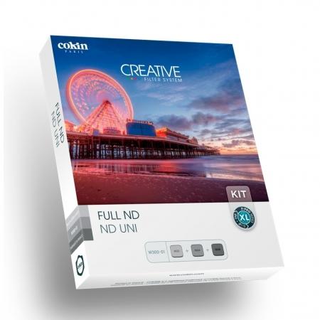 Cokin Creative Full ND XL - Kit fotografie expunere lunga, Sistem X-PRO