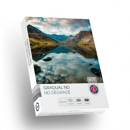Cokin Creative Gradual ND L - Kit filtre, Sistem Z-PRO