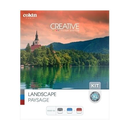 Cokin Creative Landscape XL - Kit fotografie de peisaj, Sistem X-PRO