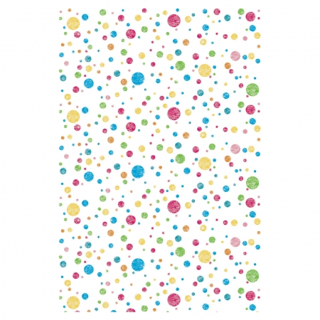 Creativity Backgrounds Multi Coloured Dots P2508 - fundal 1.22 x 3.65m