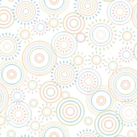 Creativity Backgrounds P2515 Hopscotch Circles - fundal carton 1.22 x 3.65m