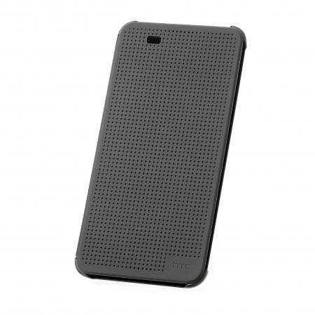 Cronos Husa Dot View pentru HTC Desire 820 - Negru