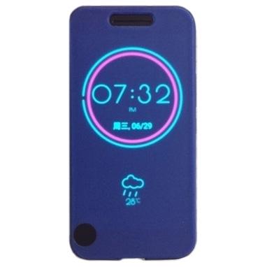 Cronos Ice View - Husa pentru HTC 10 - Albastru