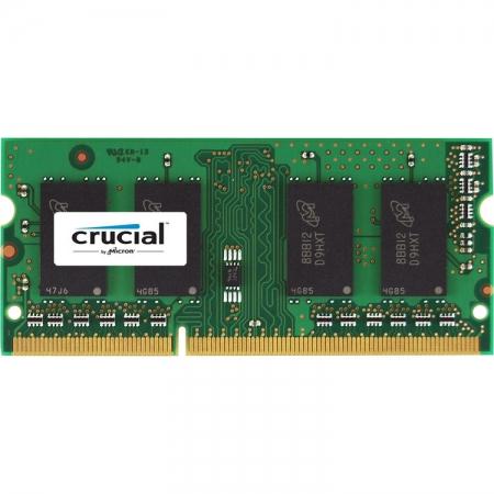 Crucial - 8GB, 1866MHz, DDR3L, CL13, SODIMM, 1.35V pentru Mac