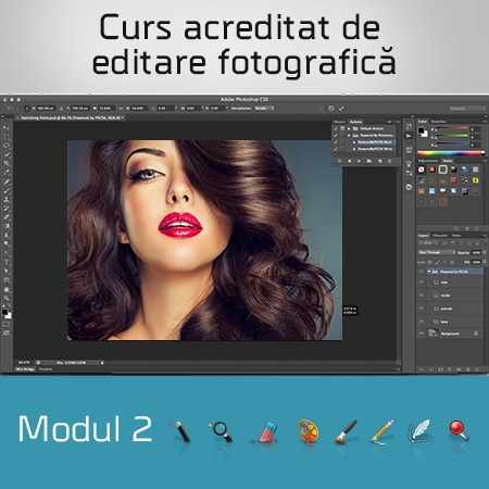 Curs acreditat de editare foto - Modulul 2