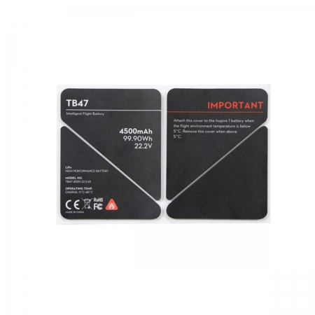 DJI Inspire 1 Part 50 TB47 Battery Insulation Sticker - sticker baterie