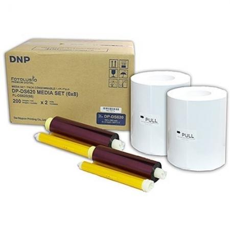 DNP Set Hartie + Tonner 15x20cm (2 role x 200) pentru DS620