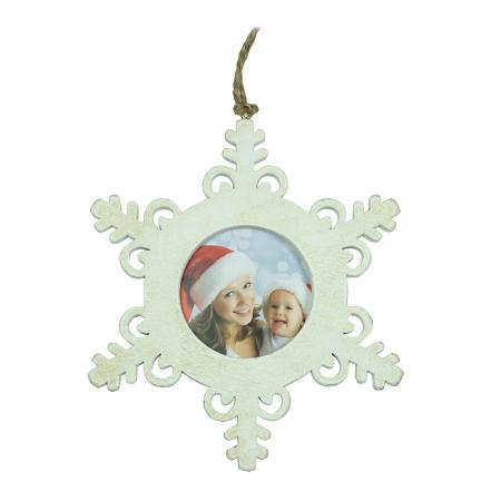 Decoratiune Christmas Star PZ alb