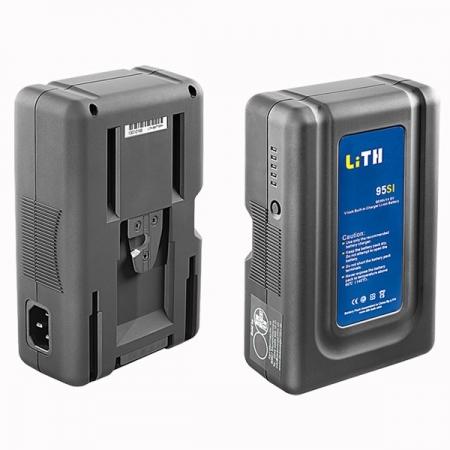 Dedolight LiTH 95SI Baterie V-Mount cu incarcator incorporat