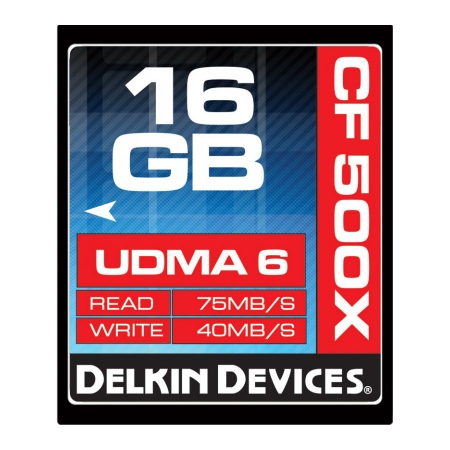 Delkin CF 16GB 500X UDMA 6 MEMORY CARD - RS125002366