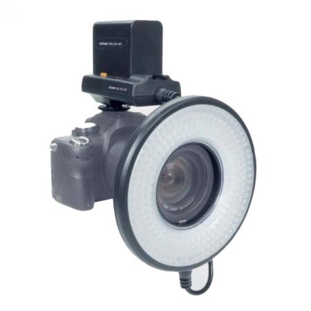 Dorr LED DRL-232 Ring Light cu Battery Box