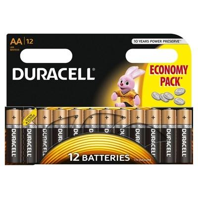 Duracell - Baterie AA LR06, 12 buc.
