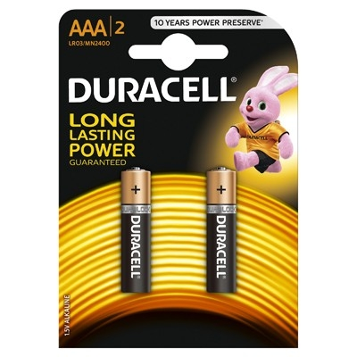 Duracell - Baterie AAA LR03, 2 buc.