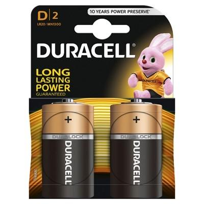 Duracell - Baterie D LR20, 2 buc.