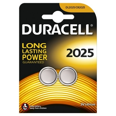 Duracell Baterie lithiu 2*2025