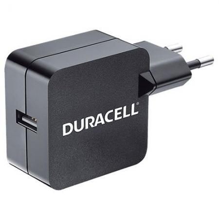 Duracell DRACUSB2-EU - incarcator de priza 2.4A USB - negru