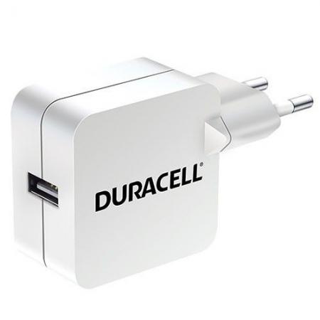 Duracell DRACUSB2W-EU - incarcator de priza 2.4A USB - alb