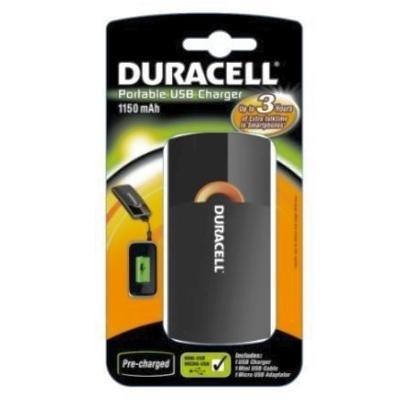 Duracell - Incarcator Portabil USB, 1150mAh
