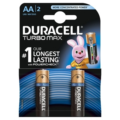 Duracell Turbo Max - Baterie AA LR06, 2 buc.