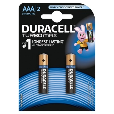 Duracell Turbo Max - Baterie AAA LR03, 2 buc.