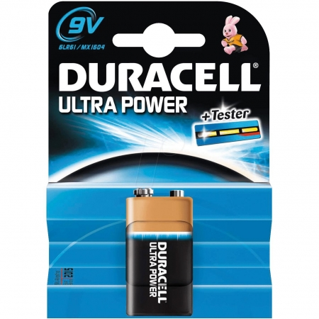 Duracell Ultra Power - Baterie 9V, 1 buc.