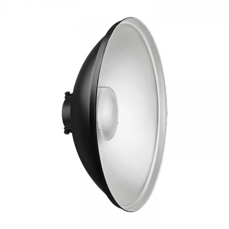 Dynaphos - Beauty Dish argintiu 55cm - montura Bowens