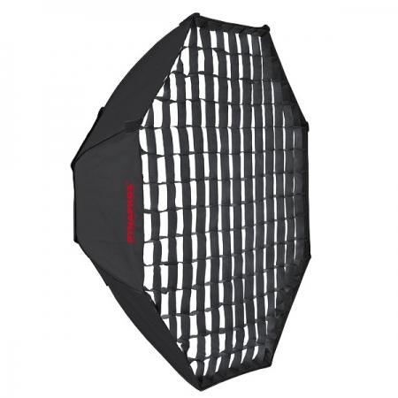 Dynaphos - octobox 170cm cu grid - montura Bowens