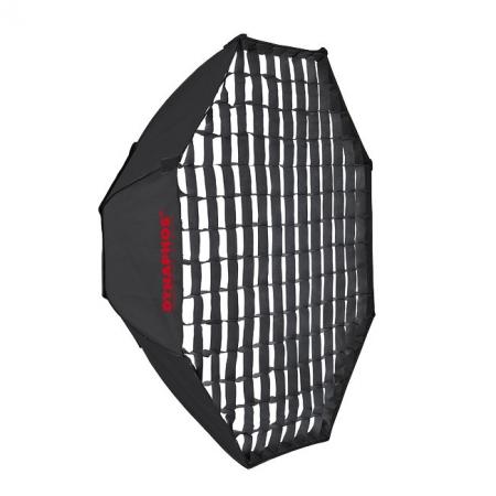 Dynaphos - octobox 95cm cu grid - montura Bowens