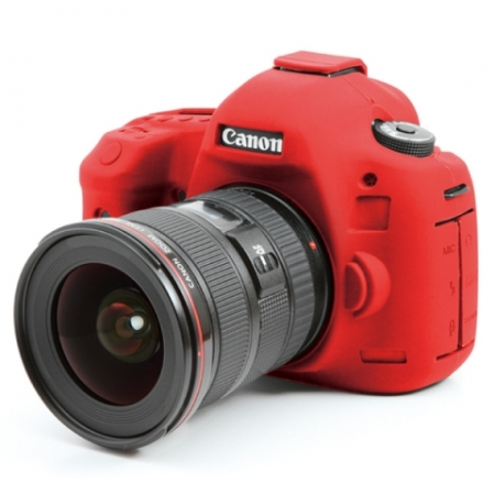 EasyCover Canon 5D mark III/ 5DS/ 5DSR - Carcasa Protectie - Rosu