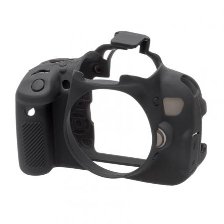 EasyCover Canon 650D/ 700D - Carcasa Protectie - Negru