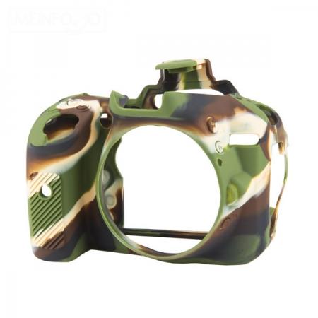 EasyCover Nikon D5300 - carcasa protectie camuflaj