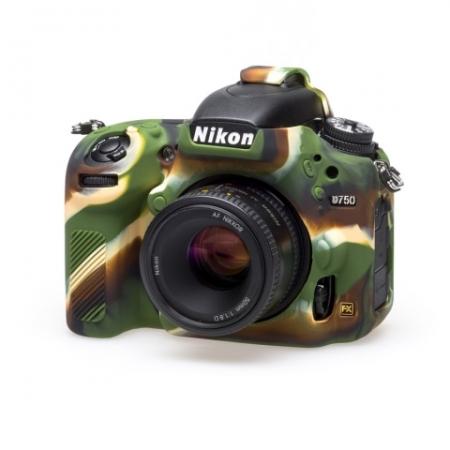 EasyCover Nikon D750 Carcasa Protectie Camuflaj